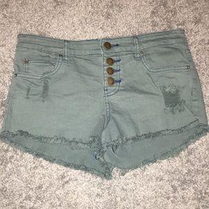 Billabong Green Shorts